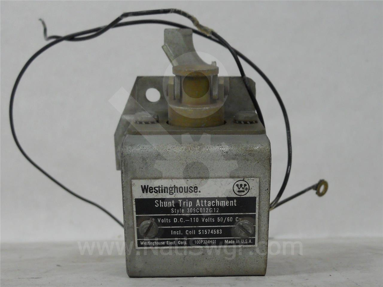 WH 48VDC/120VAC SHUNT TRIP COIL ASSEMBLY