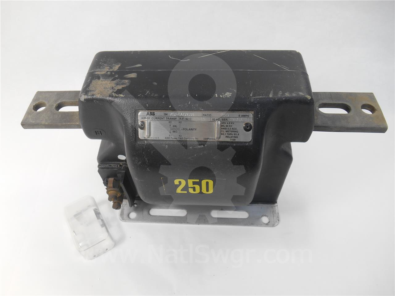 7524A01G18 ABB CURRENT TRANSFORMER 250:5 KIR60