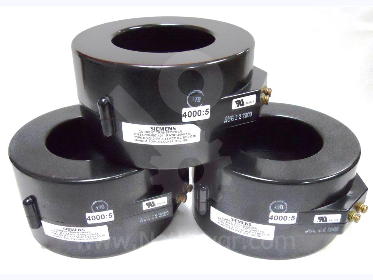 61-300-057-401 Siemens / Allis Chalmers CURRENT TRANSFORMER, 4000:5 RD-210, C10