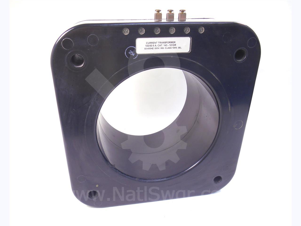 AL101 Solid Core Current Transformer ITI 100:5A Ratio 10.1 Veris AL-101