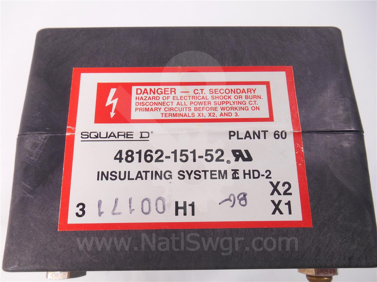 SE40NCT 4000A Square D NEUTRAL CURRENT TRANSFORMER FOR MICRLOGIC SERIES 3