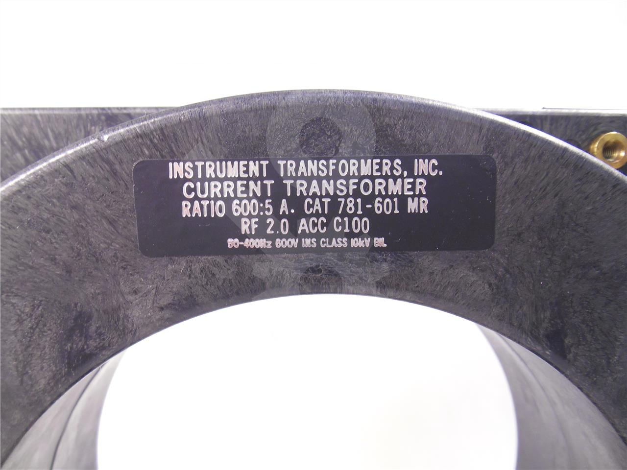 781 601mr Iti Multi Ratio Current Transformer 600 5 C100