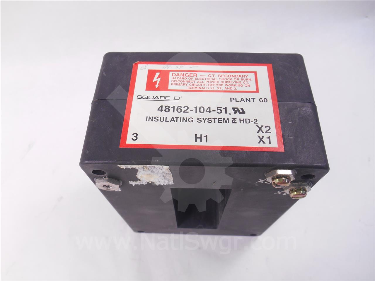 SE12NCT 1200A Square D NEUTRAL CURRENT TRANSFORMER FOR MICRLOGIC SERIES 3
