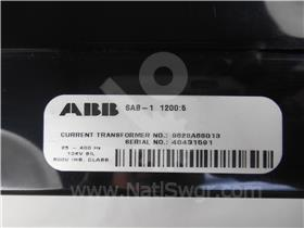ABB SAB CURRENT TRANSFORMER 1200:5
