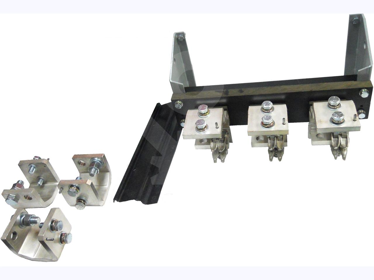 GE / General Electric 2000A FUSE RACK ASSEMBLY FOR AKR-30 / AKR-50, 2000A FUSE OR LESS