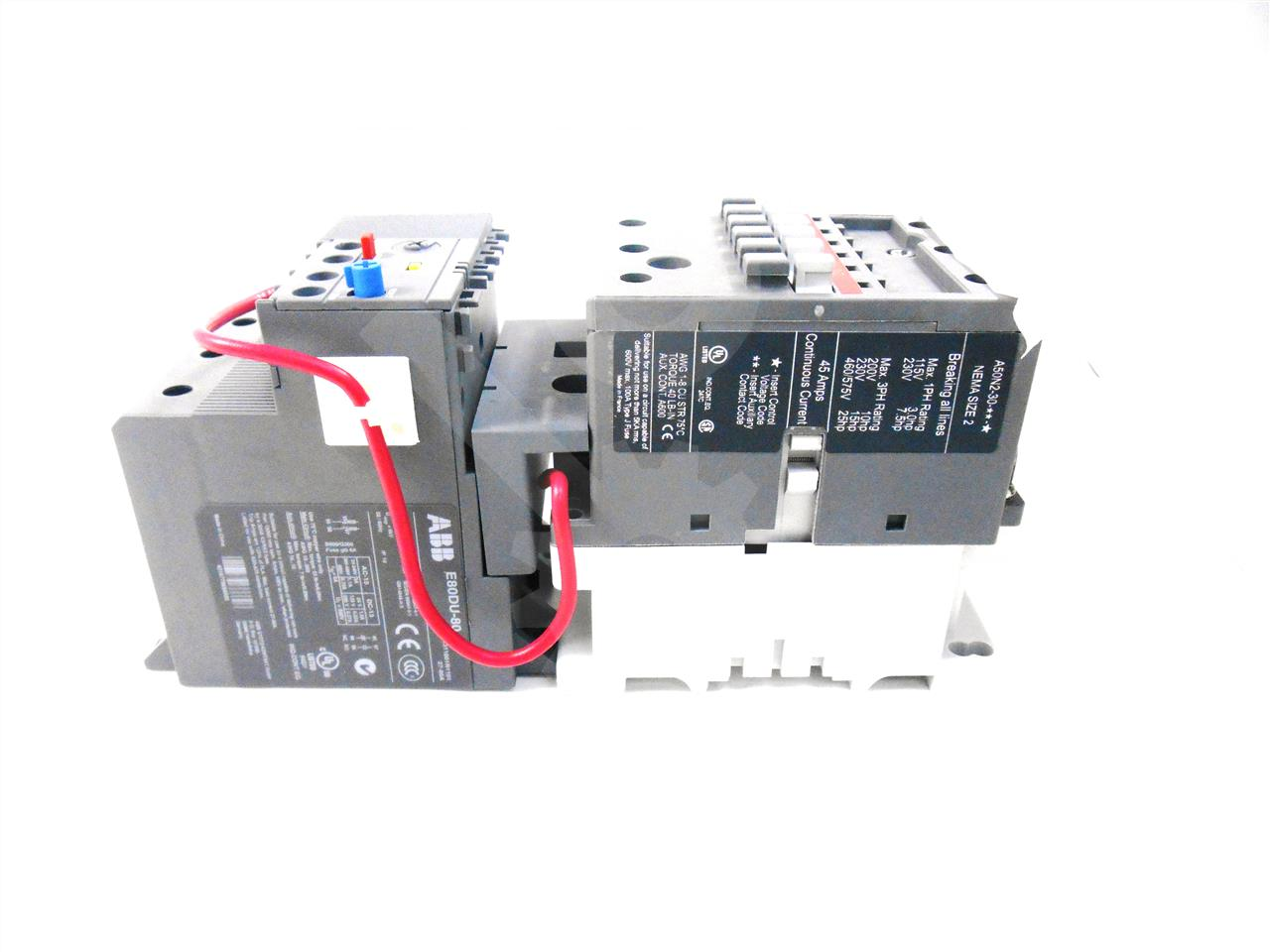 ABB / ITE / BBC 45A ABB AIR MAGNETIC CONTACTOR SIZE 2