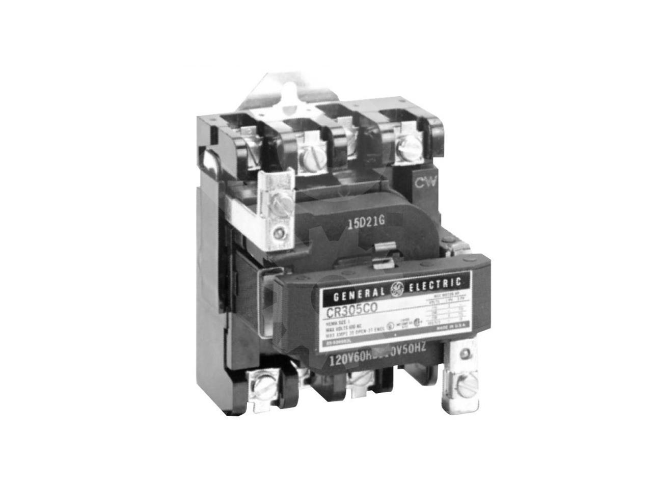 General Electric 30A GE AIR MAGNETIC CONTACTOR SIZE 1