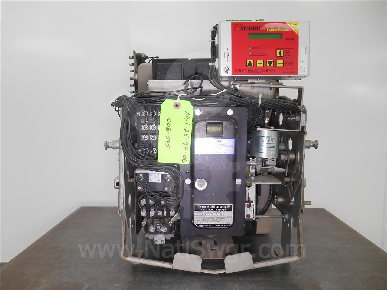 008 595 600a ge ak 1 25 9 eo do national switchgear  at aneh.co