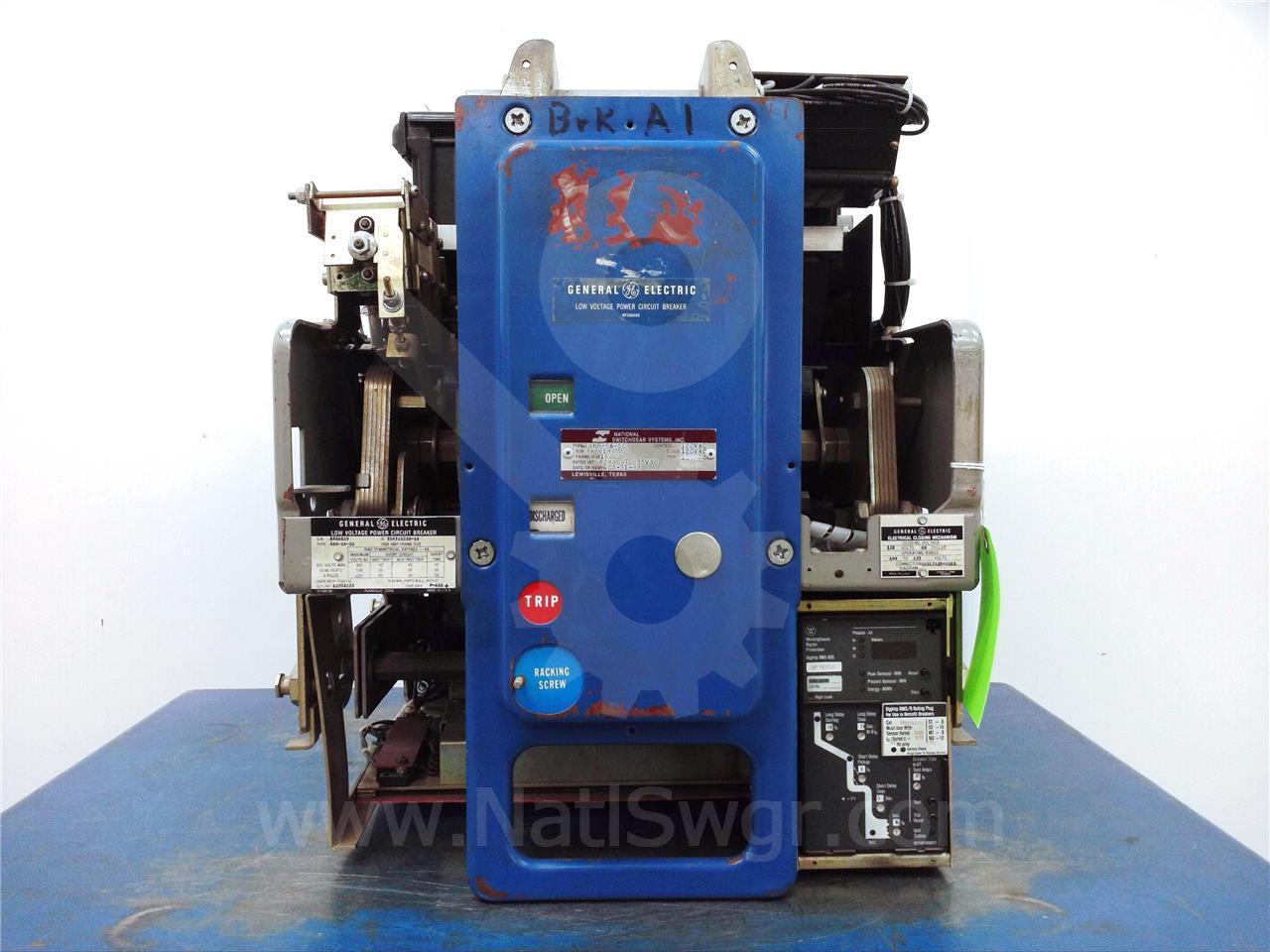 AKR-_A-50 AKR-NA-50 1600A GE / General Electric EO/DO
