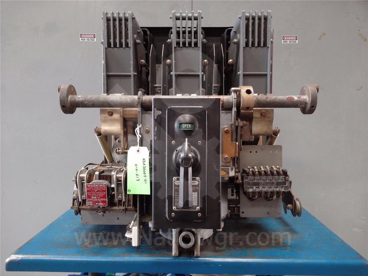 KDA-3000 3000A ITE EO/DO 230VAC CONTROL, 115VAC TRIP, OD-1 3000A