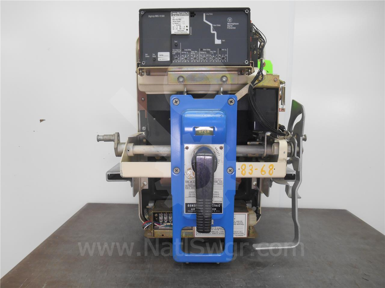 ak 2 25 600a ge general electric mo do digitrip rms r 500 lsi 200 rh nationalswitchgear com