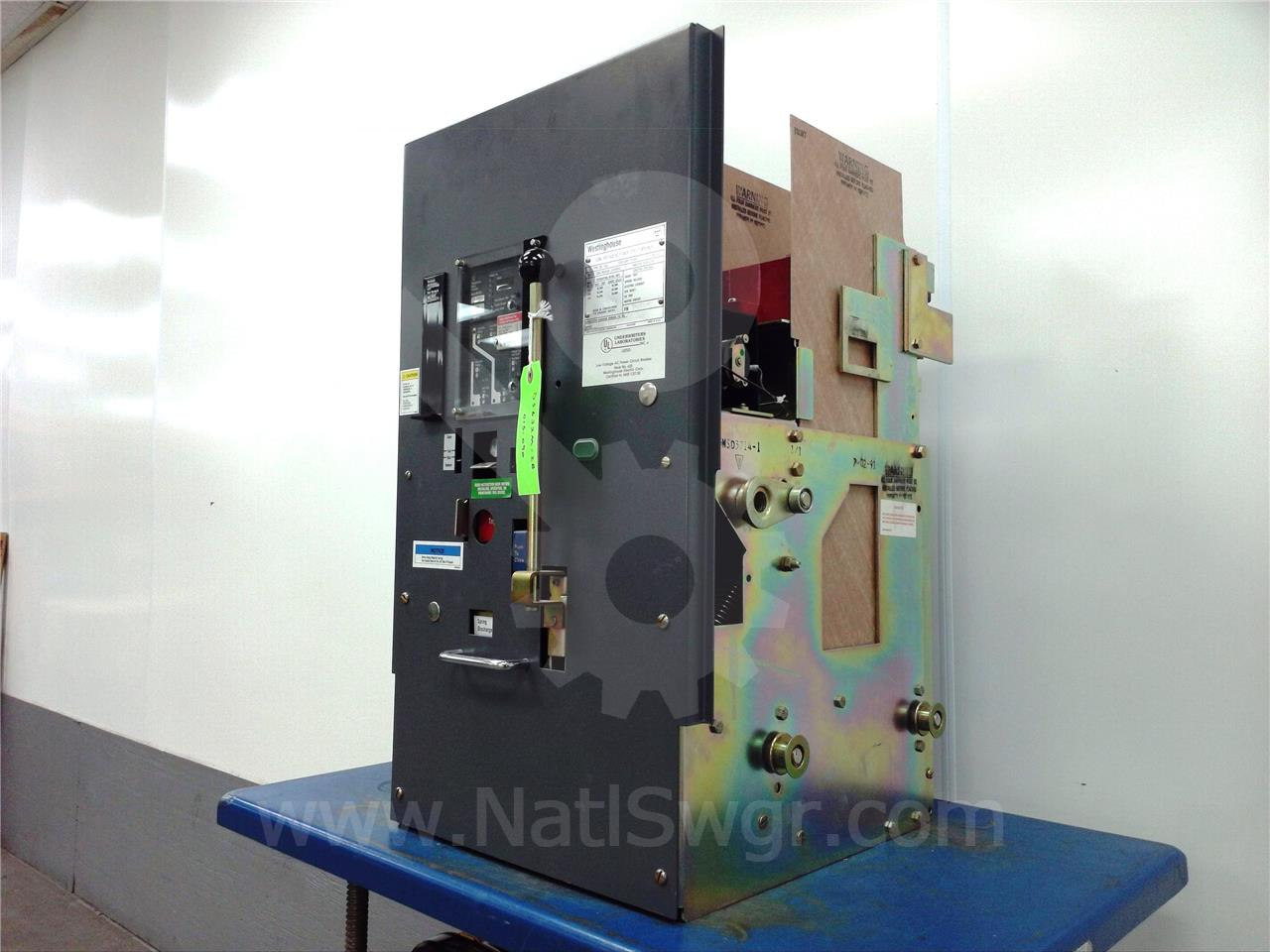 DS-632 3200A Westinghouse MO/DO DIGITRIP RMS 800 LIG, 3200A RP, 3200A CT, PTM