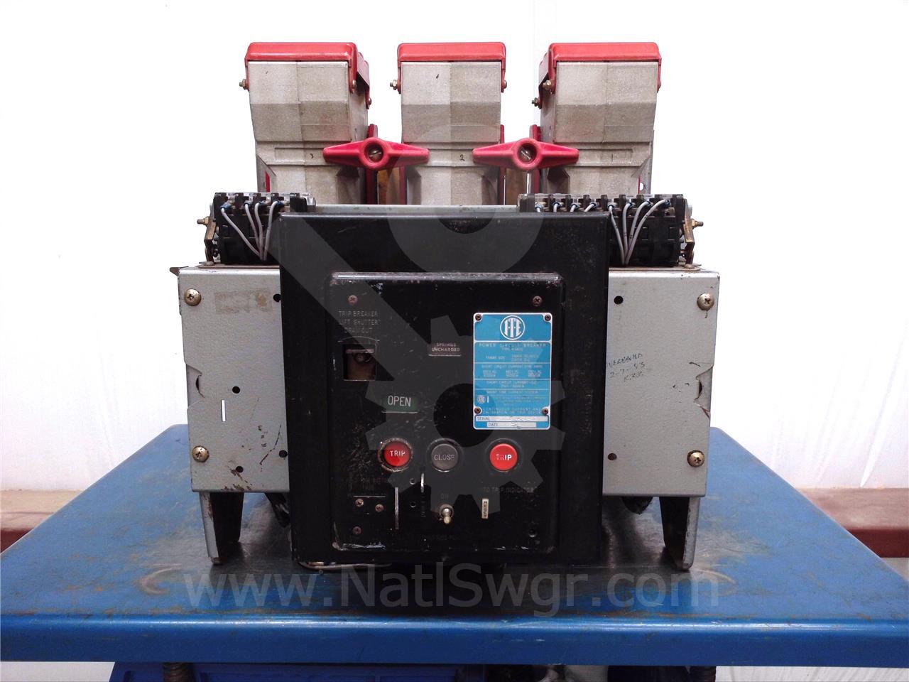 K-1600 1600A ITE RED EO/DO 125VDC CONTROL, OD-4 600A LS