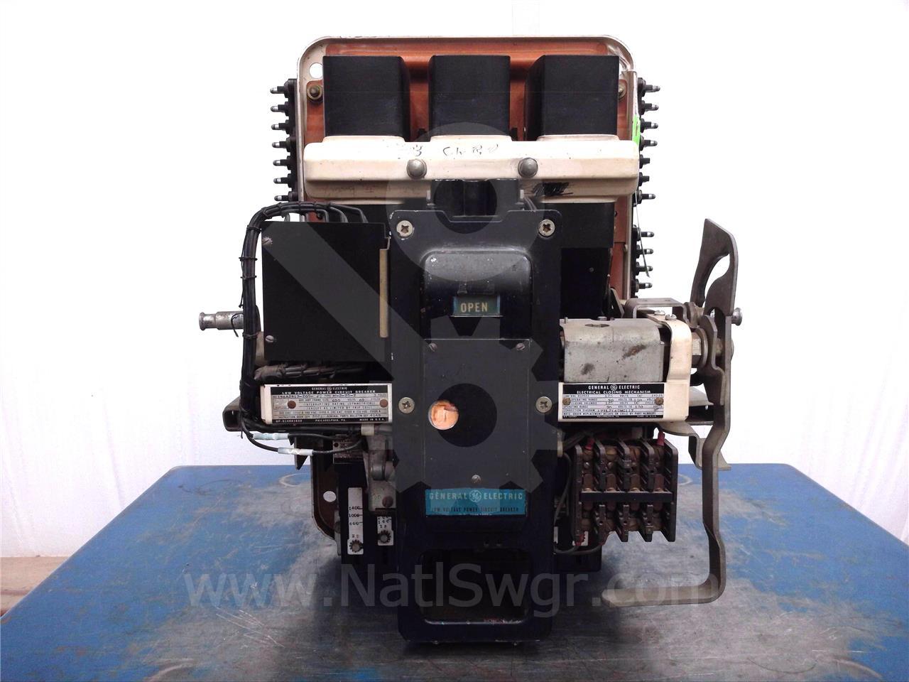AK-2-25 600A GE / General Electric EO/DO 125VDC CONTROL, EC-1 200A 1B-2B-3