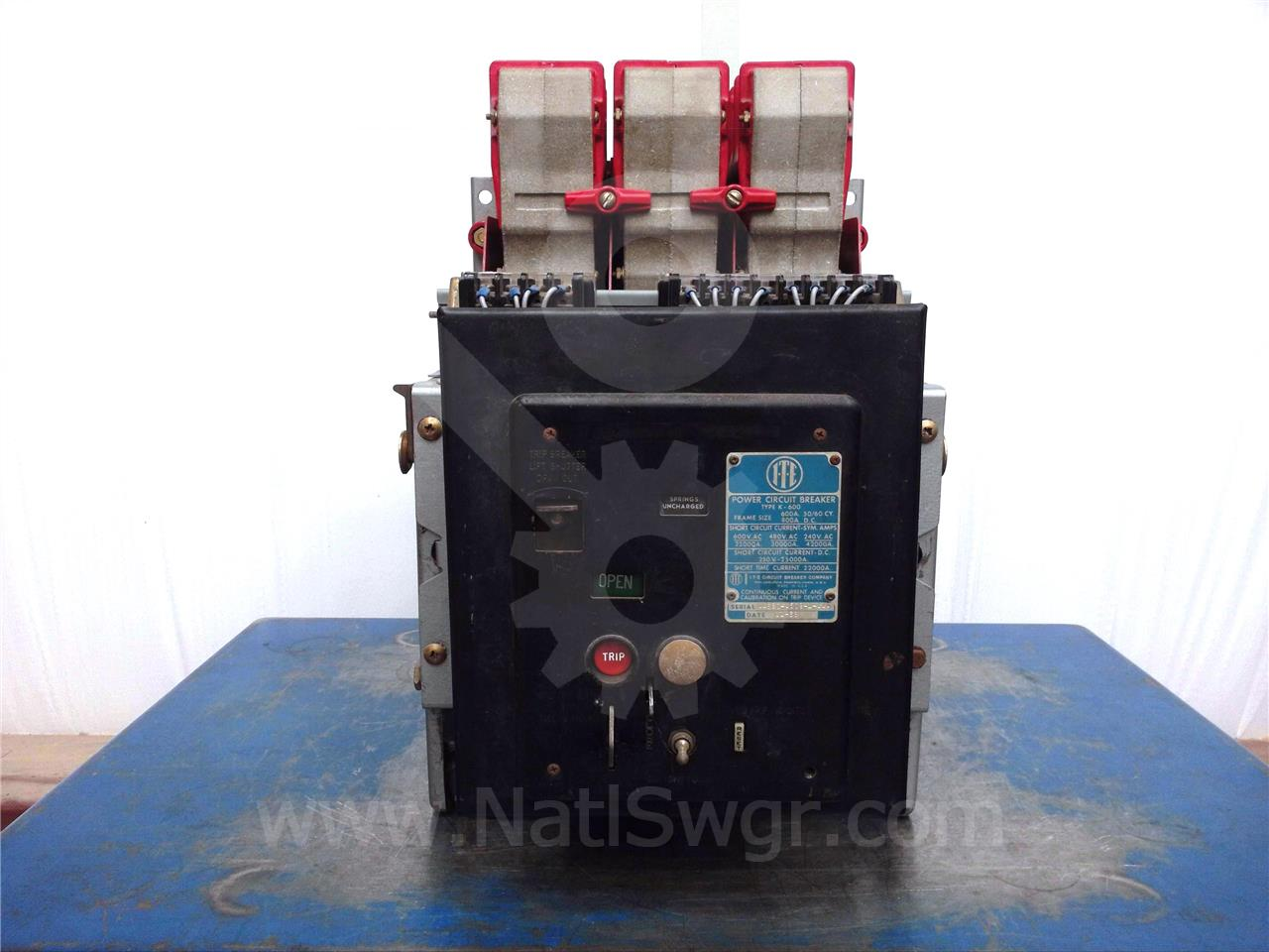 K 600 600a Ite Red Eo Do Sku016925 Ebay Used Circuit Breakers E43b060 60 Amp 3 Pole Breaker Image Is Loading