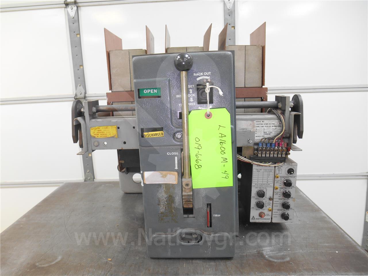 Siemens / Allis Chalmers 1600A AC LA-1600 MO/DO