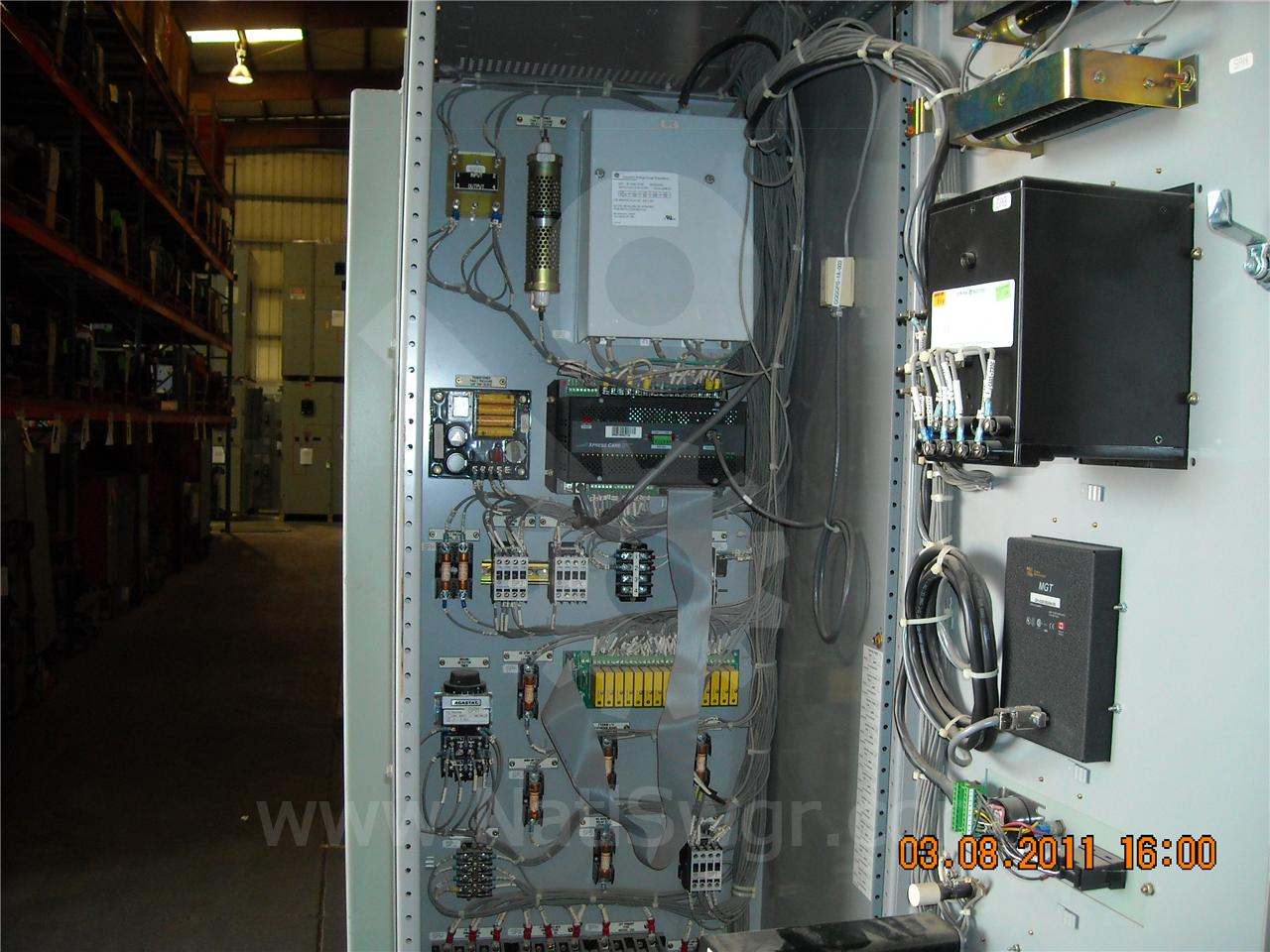 AKD-8 4000A GE / General Electric AKD-8 INDOOR SWITCHGEAR METER AND CONTROL SECTION
