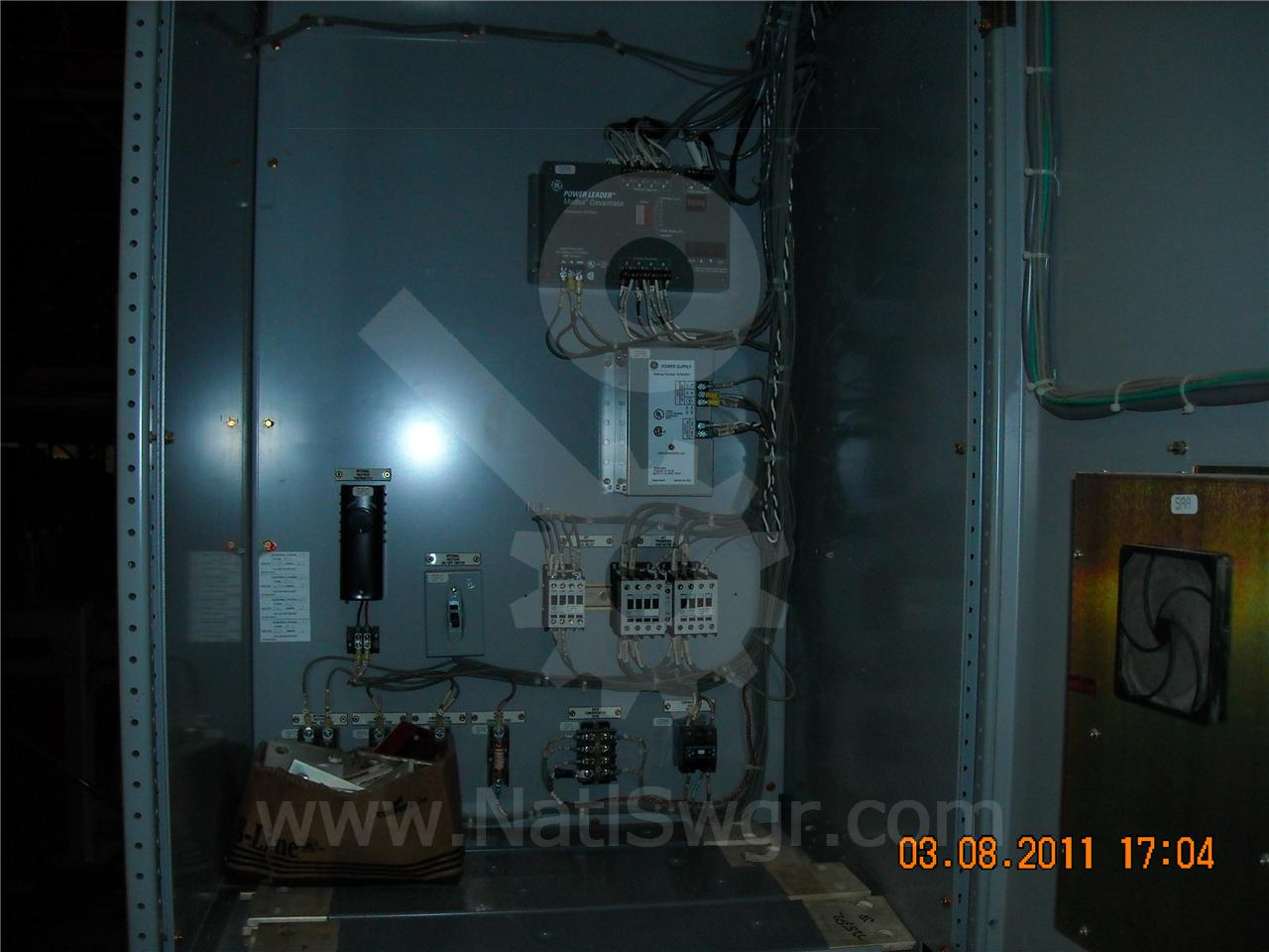 AKD-8 4000A GE / General Electric AKD-8 INDOOR SWITCHGEAR 1-4000A TIE