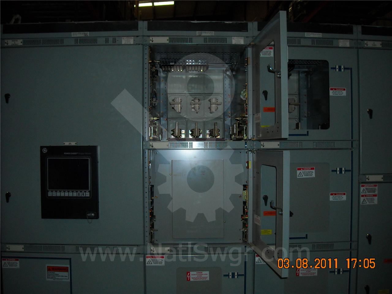 AKD-8 4000A GE / General Electric AKD-8 FUSED INDOOR SWITCHGEAR 4-1600A FEEDER