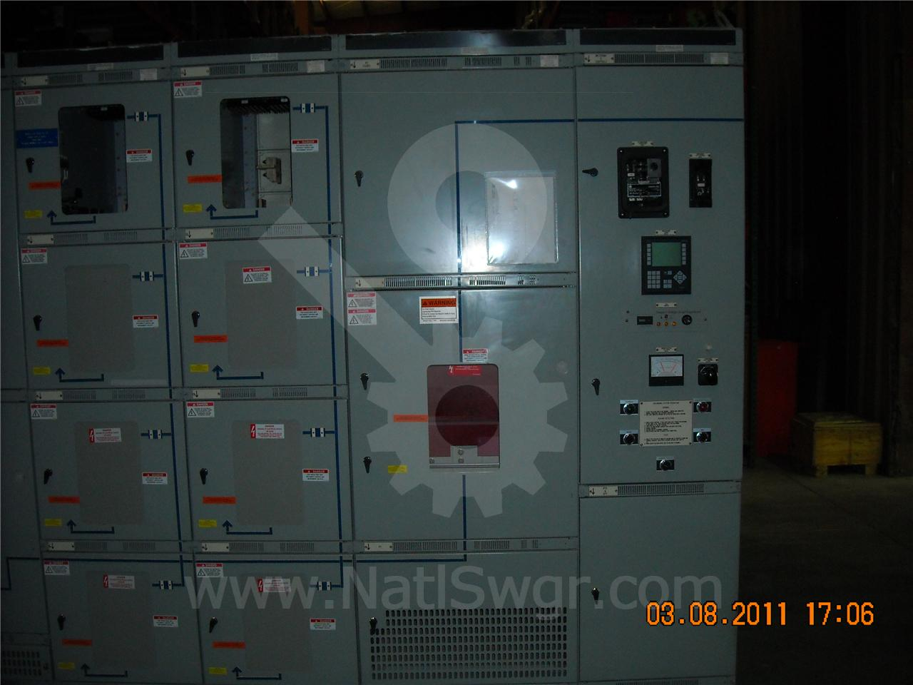 AKD-8 4000A GE / General Electric AKD-8 INDOOR SWITCHGEAR 1-4000A MAIN
