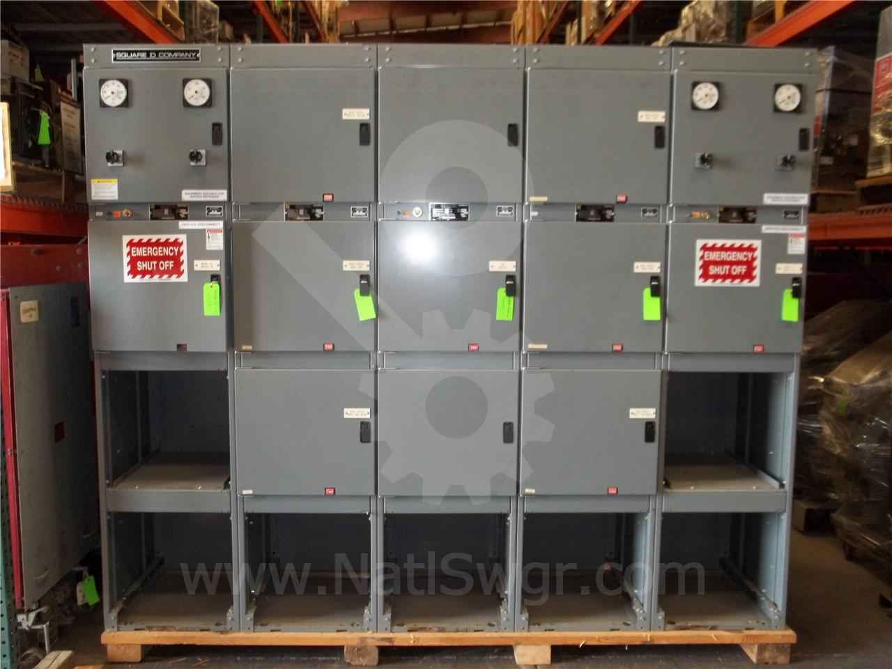 POWER ZONE III 2000A Square D POWER ZONE III INDOOR SWITCHGEAR UNUSED SURPLUS