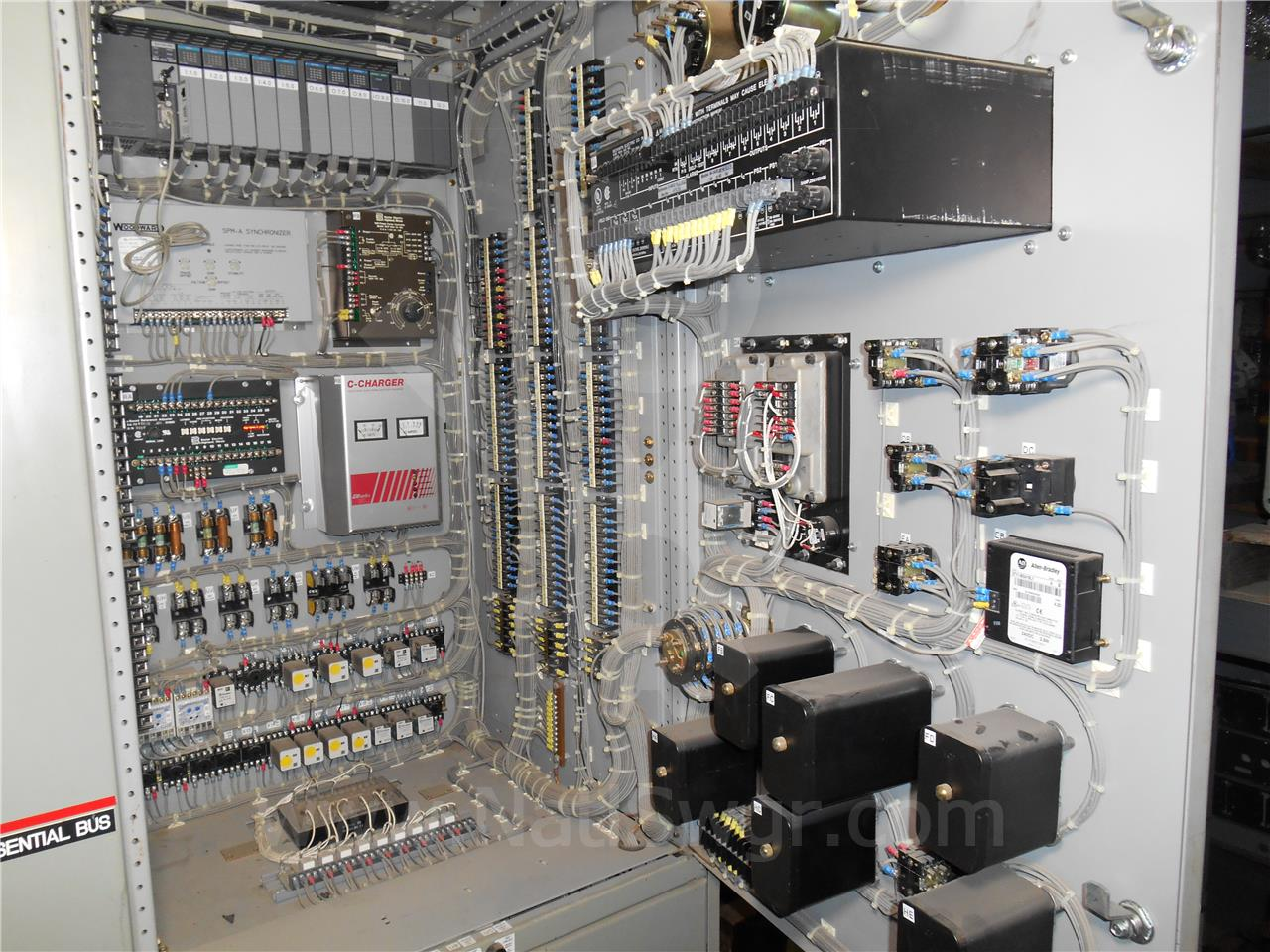 General Electric 2000a Ge Akd 10 Indoor Switchgear