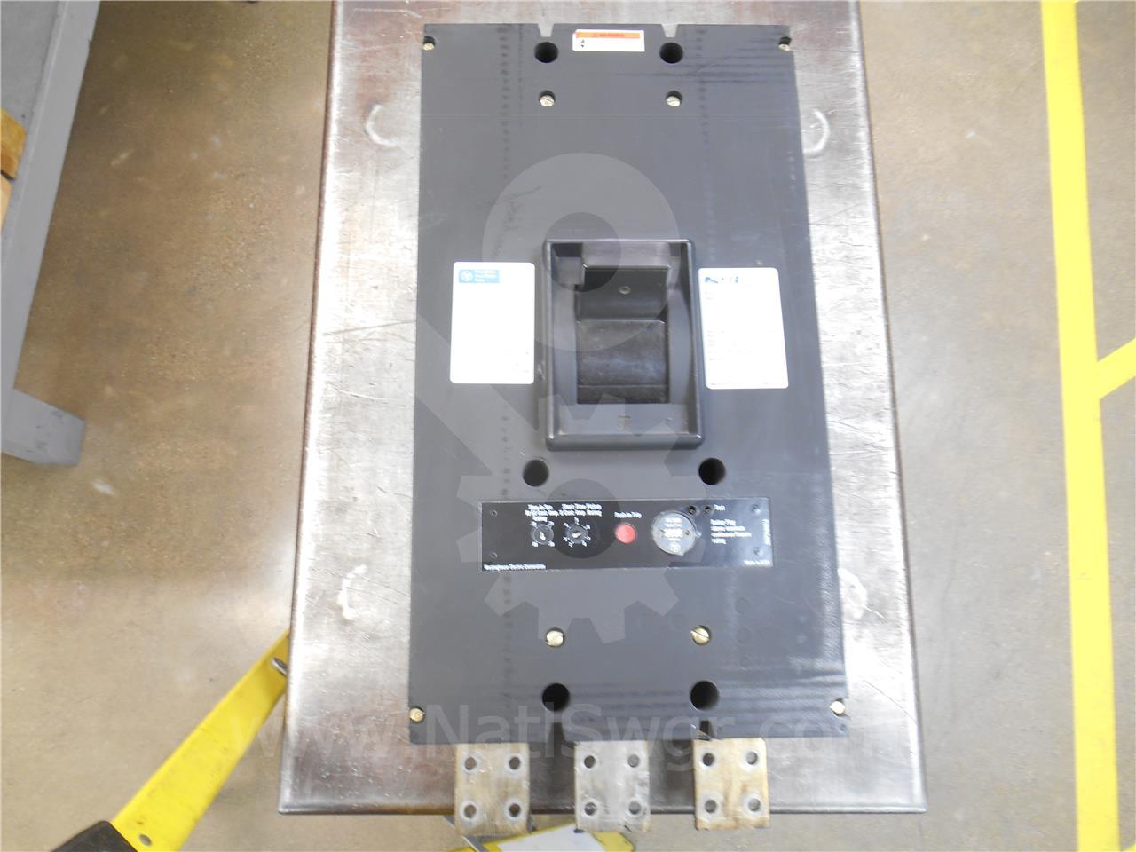 Westinghouse / Cutler Hammer WH SELTRONICS PCFA MCCB