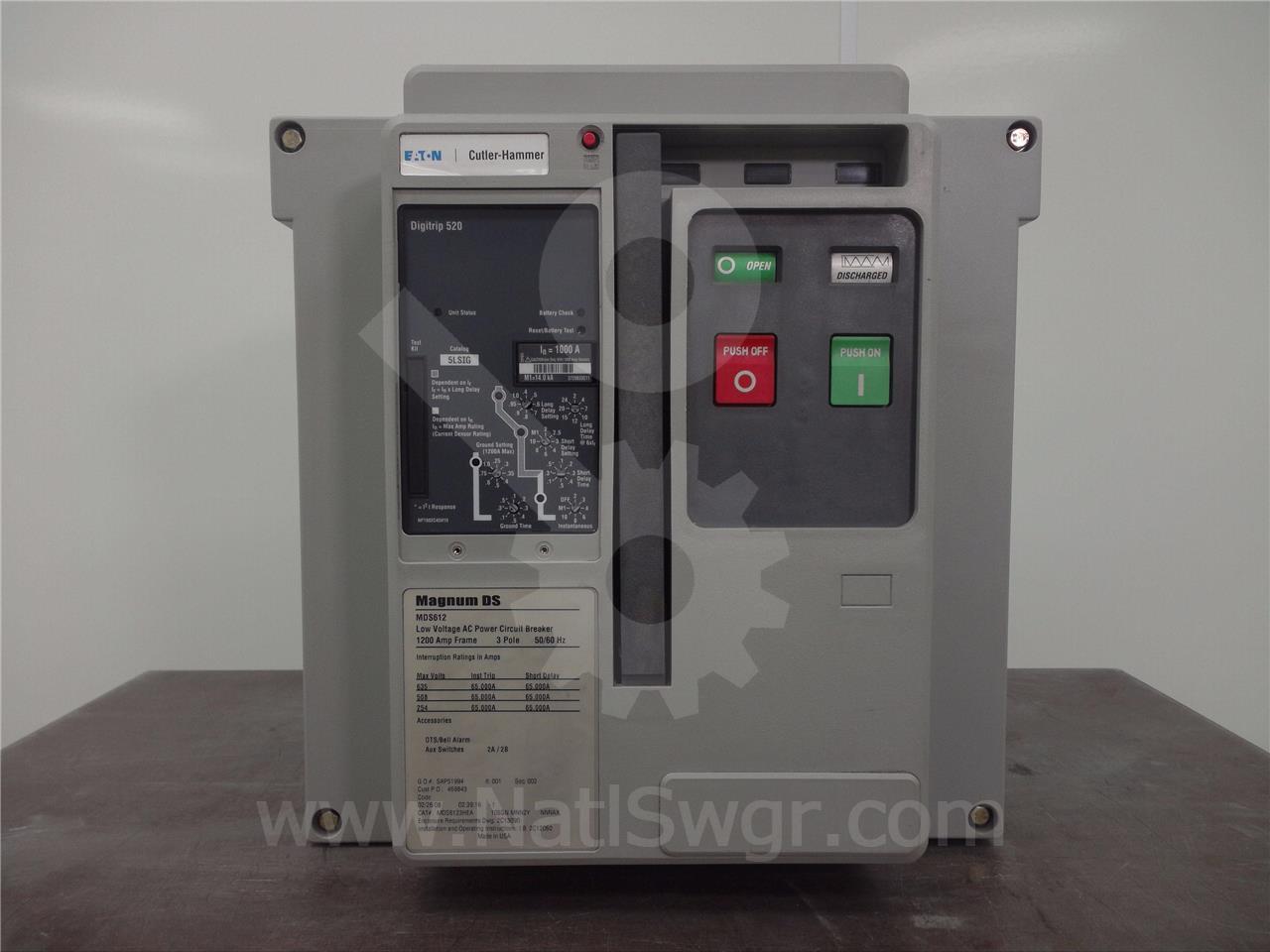 Westinghouse / Cutler Hammer 1200A CH MDS6123HEA105GNMNN2YNNNAX MO/BI (MDS612)