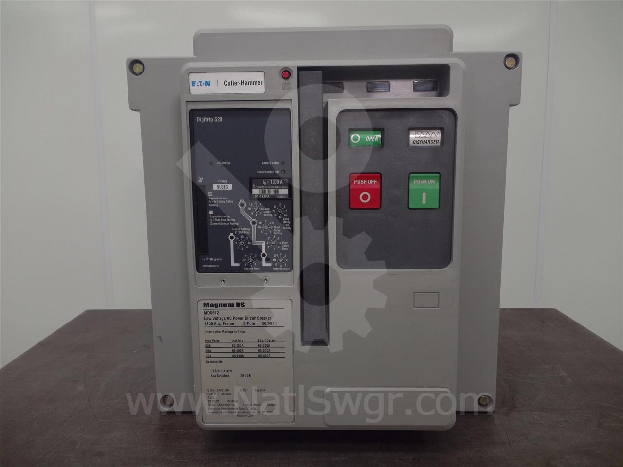 Westinghouse / Cutler Hammer MDS612 1200A CH MDS6123HEA105GNMNN2YNNNAX MO/BI