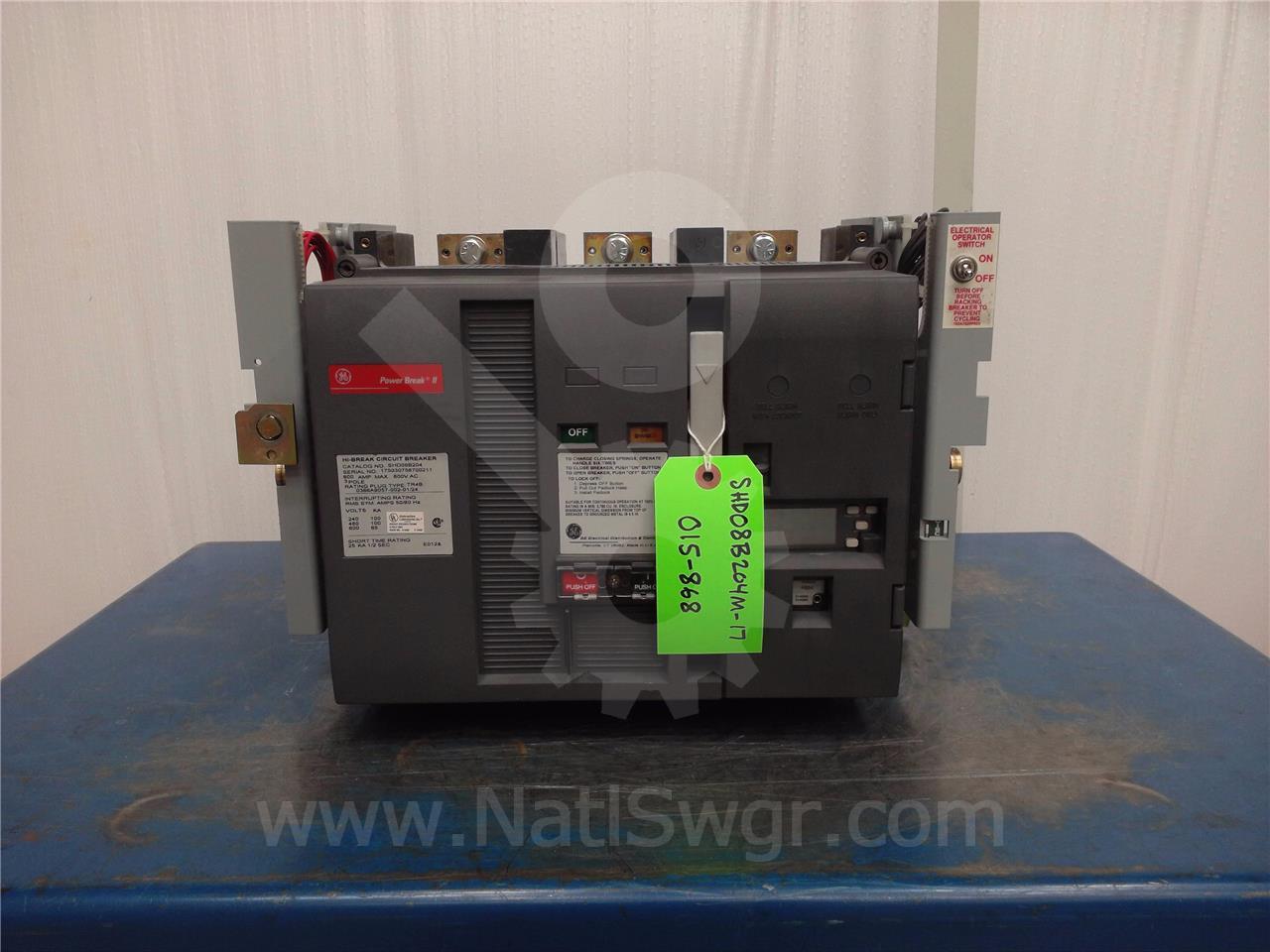 800A GE SHD POWER BREAK II MO/DO