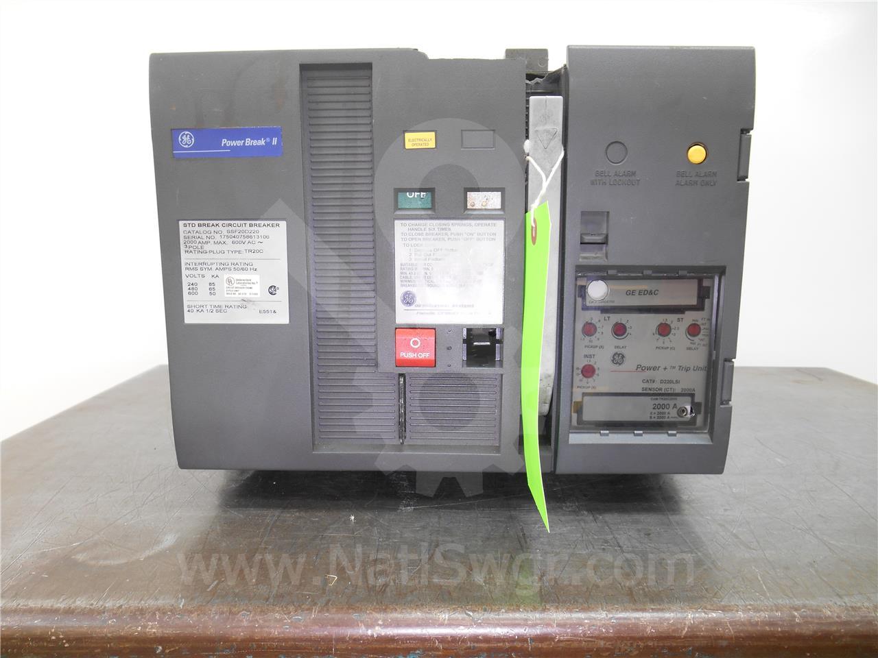 2000A GE SSF POWER BREAK II EO/ BI