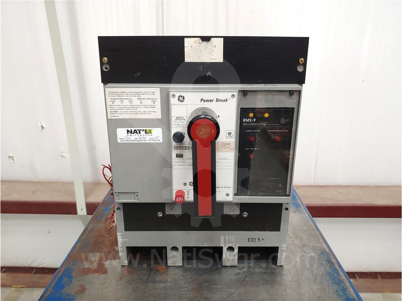 General Electric 1600A GE TP POWER BREAK MO/BI (TP1616)