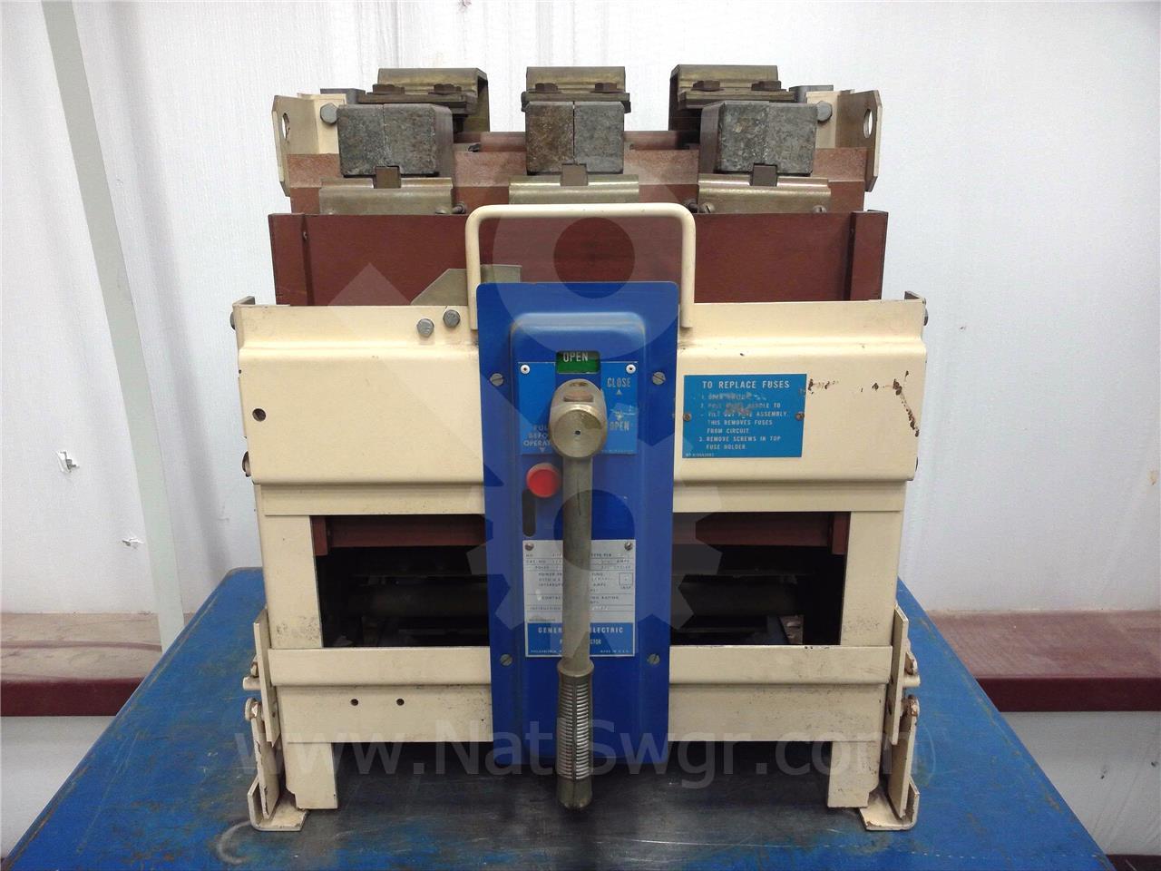 General Electric 1200A GE 6PLB12 MO/BI