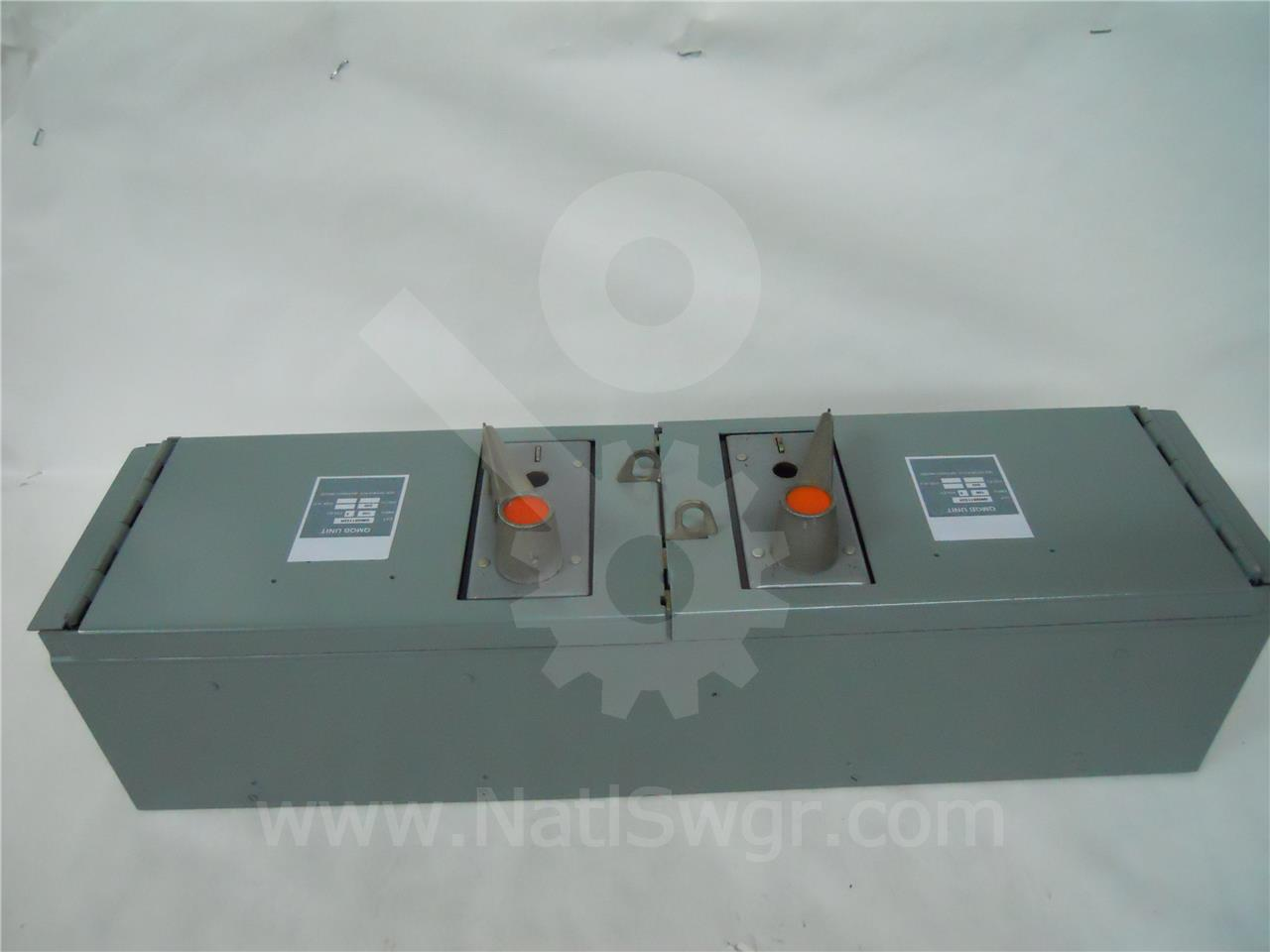 Federal Pacific / Federal Pion 100A FP QMQB THREE PHASE DISCONNECT SWITCH