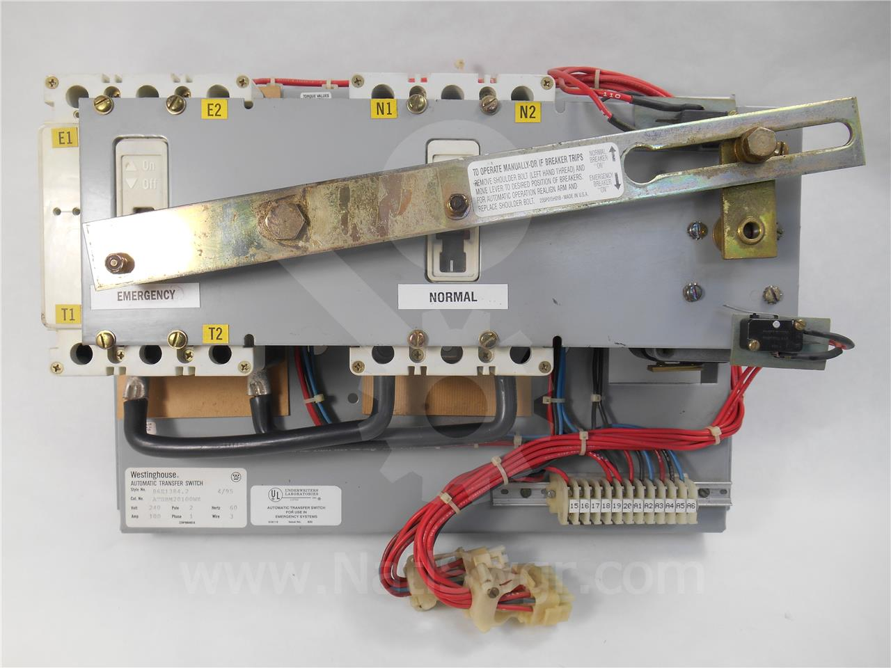 012 987 wh low voltage automatic transfer switch national switchgear cutler hammer automatic transfer switch wiring diagram at nearapp.co