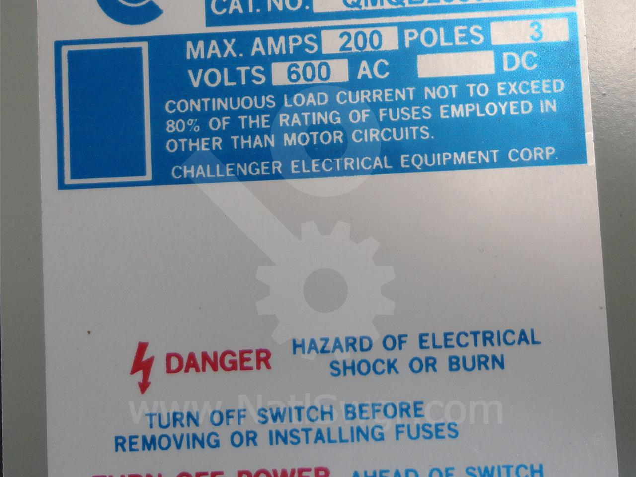 Challenger Electrical Equipment Corp