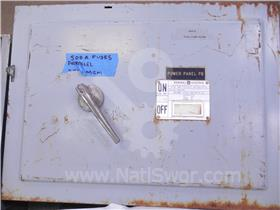 600A GE QMR LOW VOLTAGE DISCONNECT SWITCH