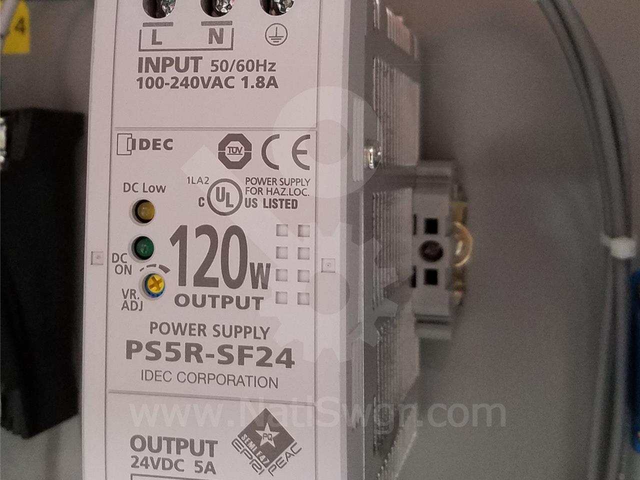 IDEC 24VDC POWER SUPPLY