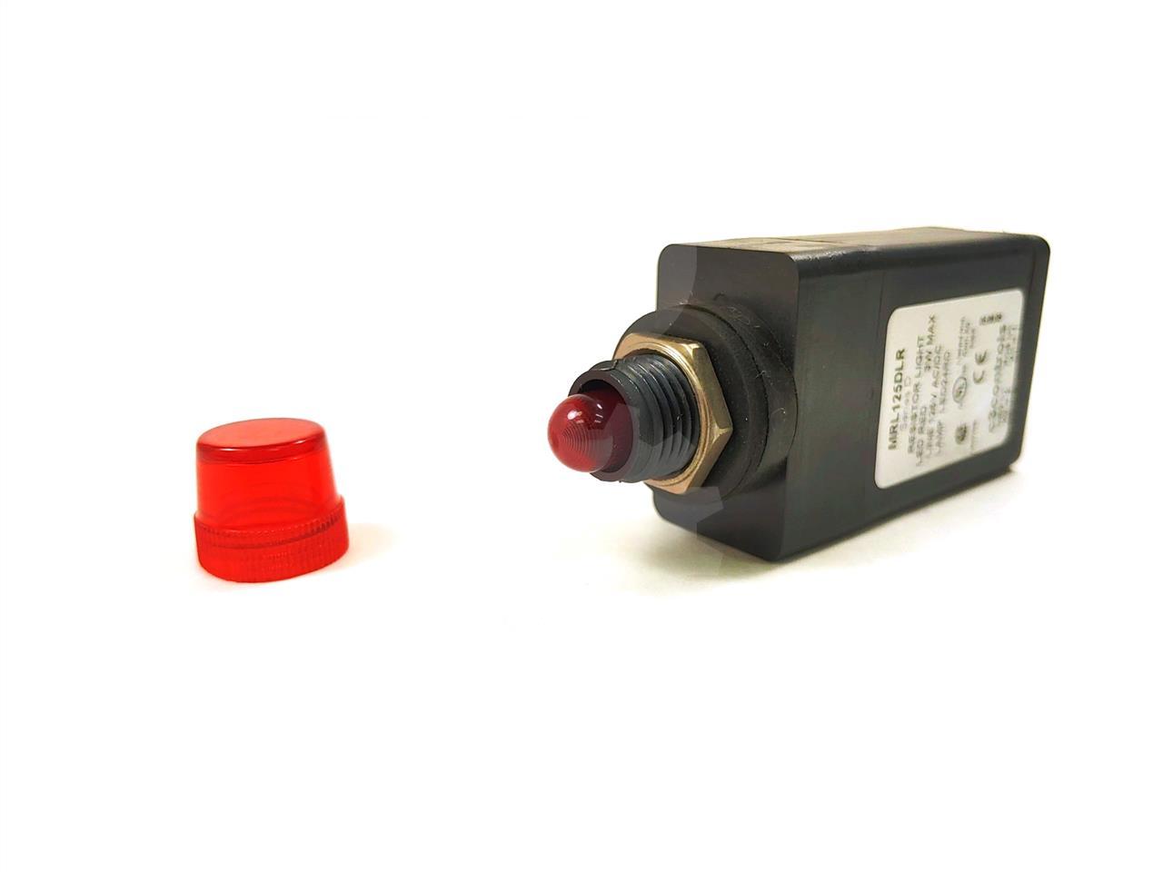 C3 Controls C3 CONTROLS 16MM RESISTOR TYPE LED INDICATING LIGHT ASSEMBLY UNUSED SURPLUS