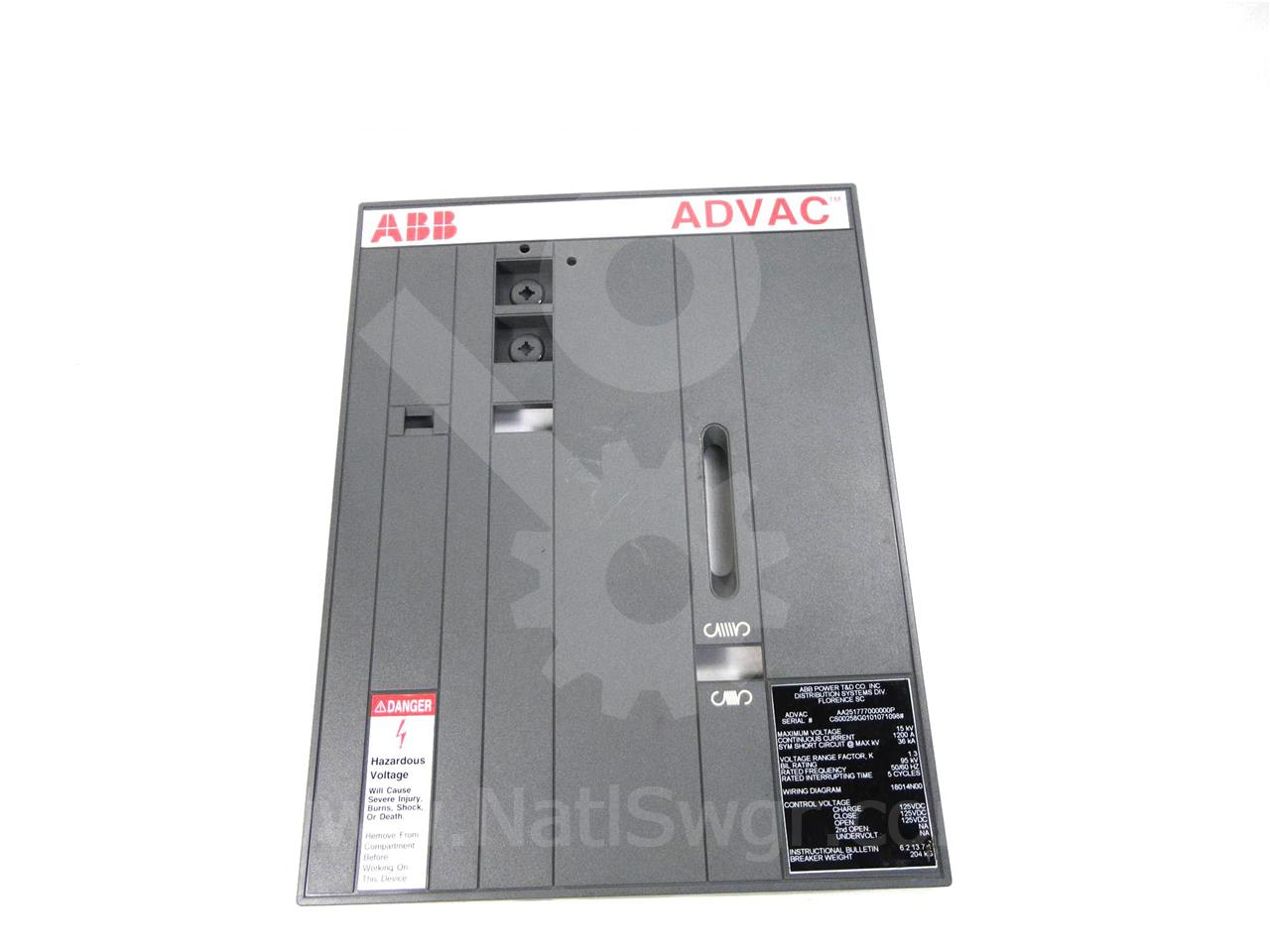 ABB / ITE / BBC ABB PLASTIC FRONT COVER ASSEMBLY