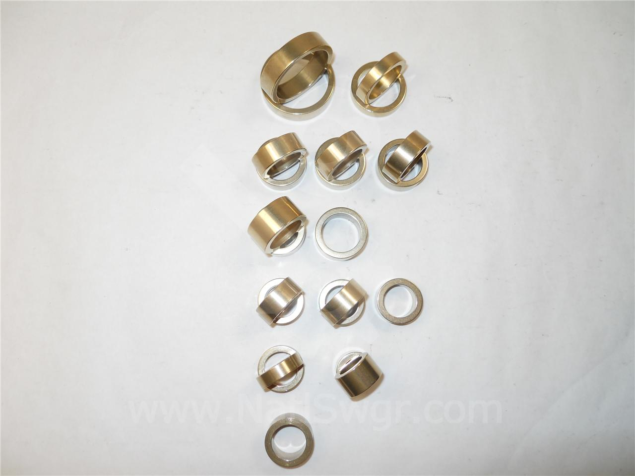 0156C9403G001 NSS ML-13 ALUMINIUM BRONZE BUSHING KIT NEW FOR GE MAGNE-BLAST