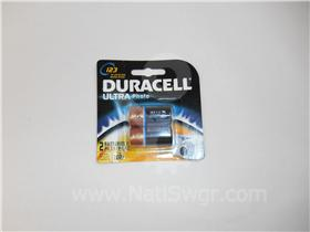 DURACELL 3VOLT LITHIUM BATTERY SHORT NEW