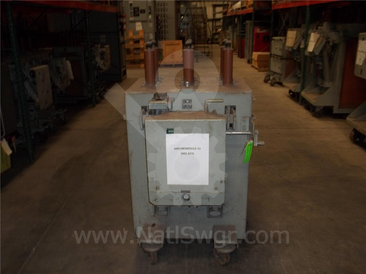 AM 13.8-500 AM-13.8-500-5H 1200A GE / General Electric ML-13 PARTS UNIT, 48VDC CONTROL