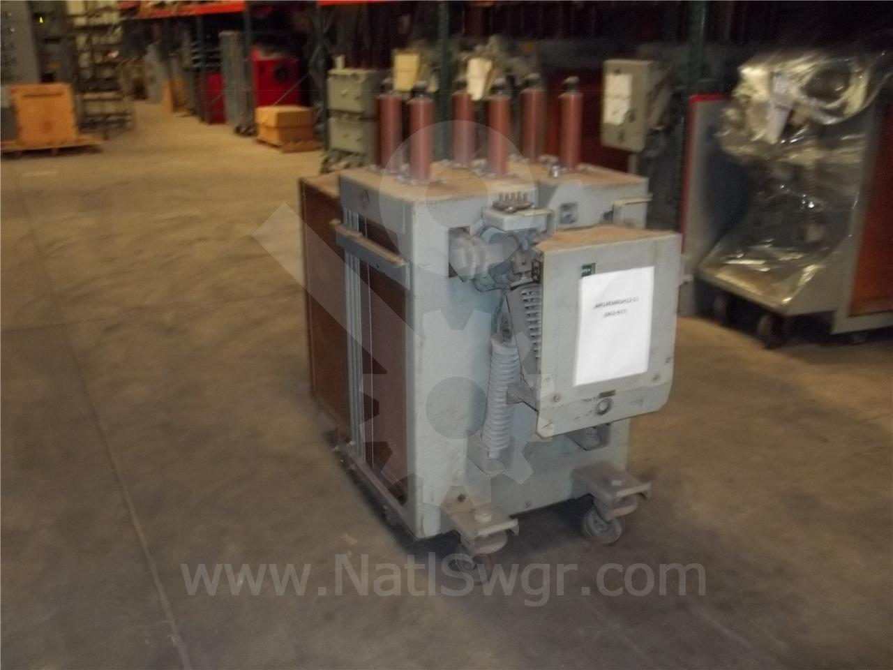 General Electric AM 13.8-500 1200A GE AM-13.8-500-5H ML-13