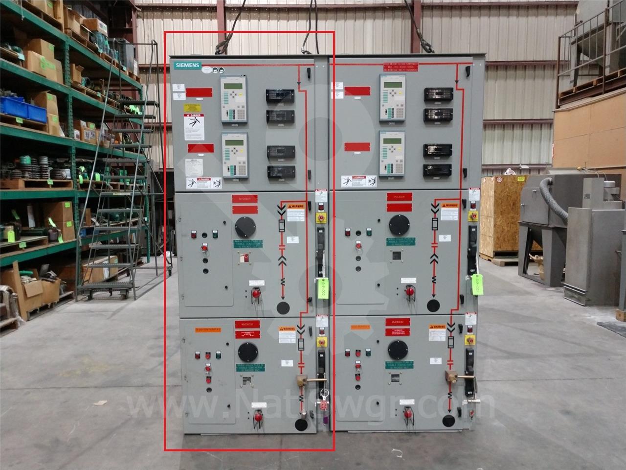Siemens / Allis Chalmers 400A SA 81000 SERIES VACUUM INDOOR SWITCHGEAR 5KV UNUSED SURPLUS