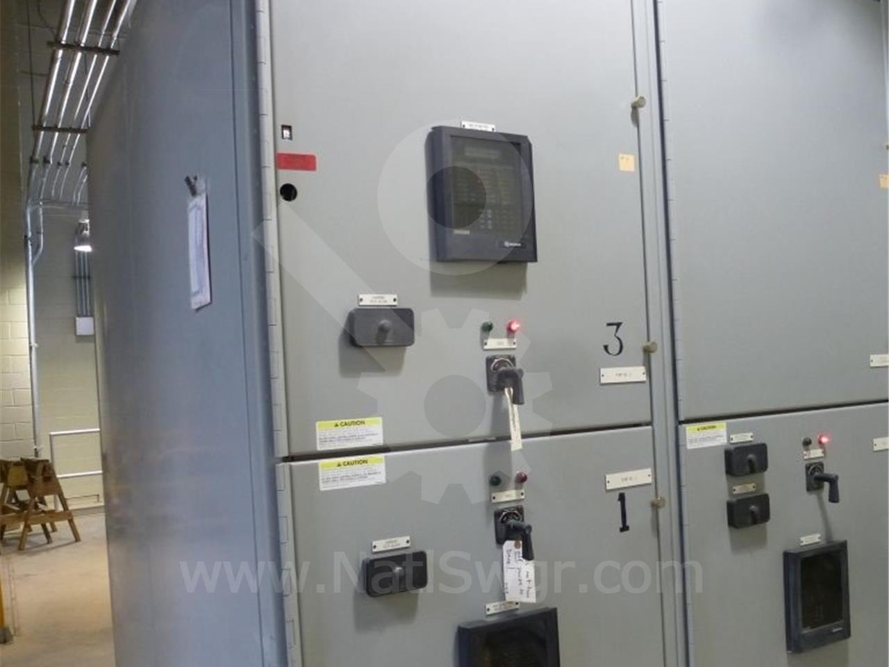 5KV GE / General Electric VB/VB1 INDOOR SWITCHGEAR 2-1200A BREAKER COMPARTMENTS, 240VAC CONTROL