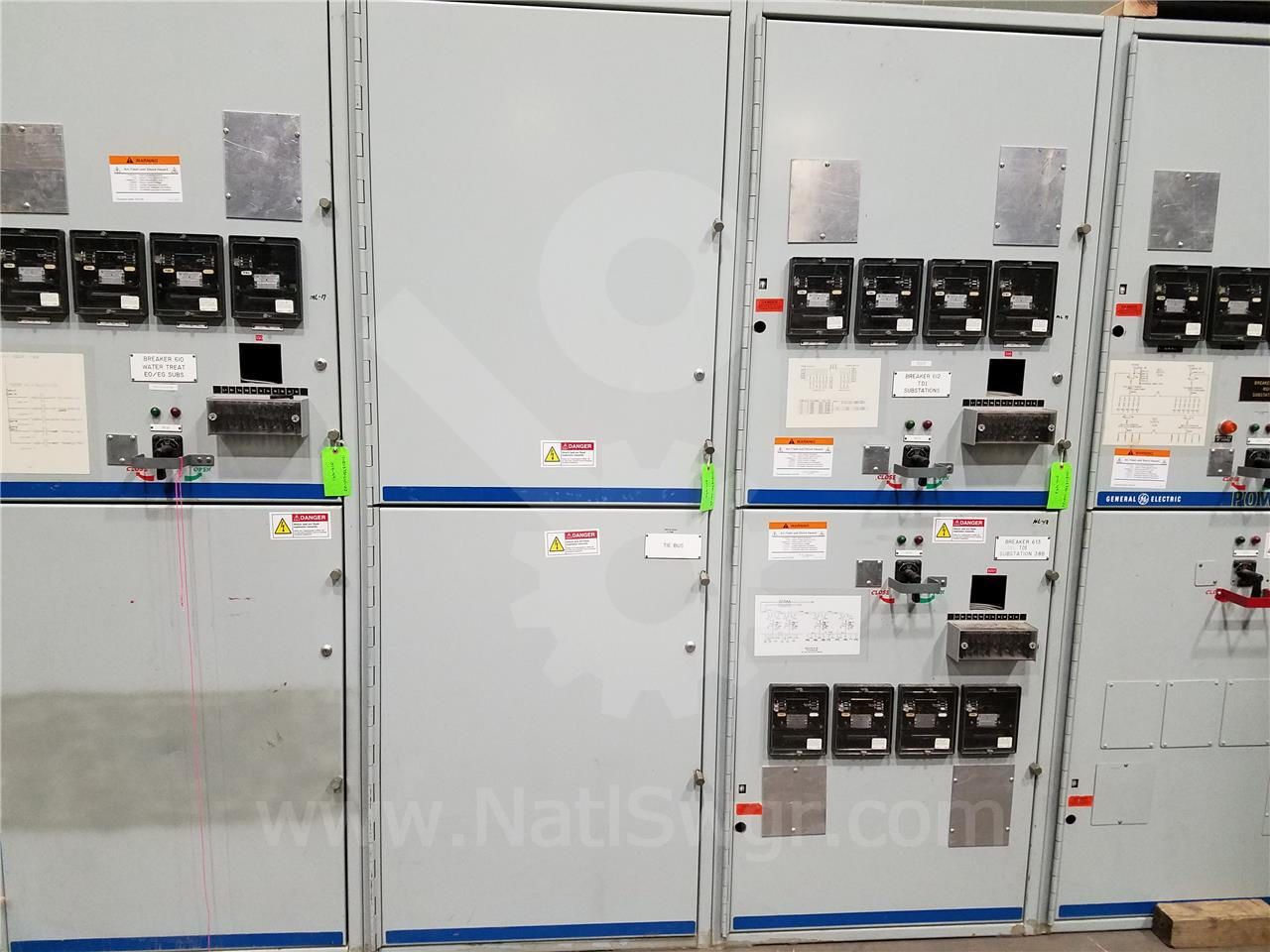 15KV GE / General Electric VB/VB1 INDOOR SWITCHGEAR TIE BUS COMPARTMENT