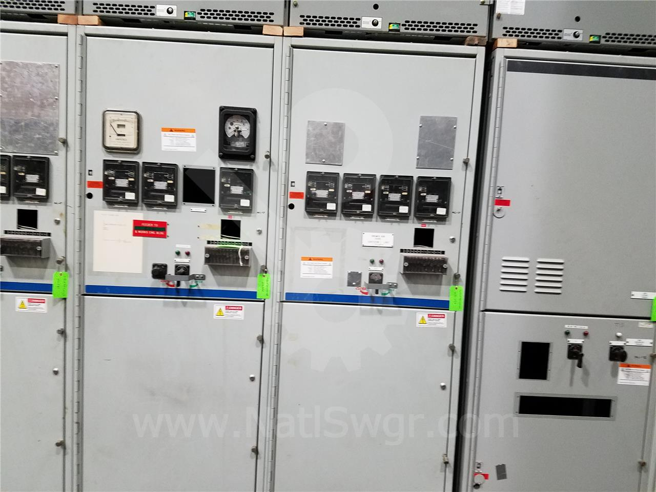15KV GE / General Electric VB/VB1 INDOOR SWITCHGEAR 2-1200A  BREAKER COMPARTMENT, 125VDC CONTROL