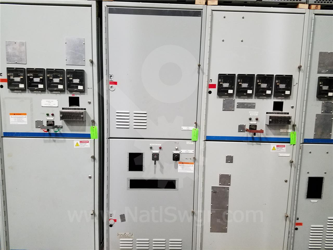 15KV GE / General Electric VB/VB1 INDOOR SWITCHGEAR 2000A BREAKER COMPARTMENT, BLANK, 125VDC CONTROL