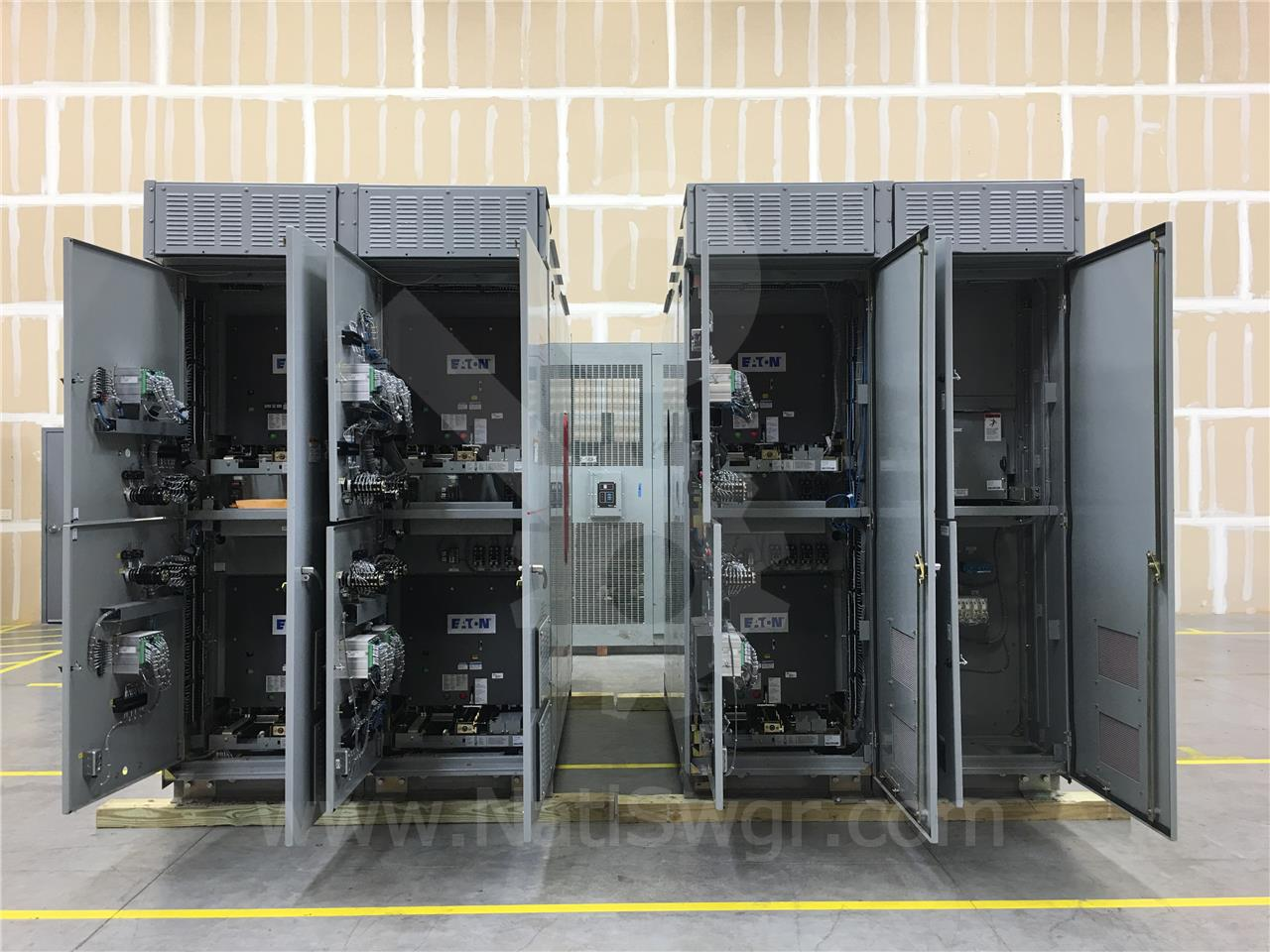 Westinghouse / Cutler Hammer 5KV WH EATON VCP-W OUTDOOR SWITCHGEAR LINEUP 1200A 350MVA - UNUSED SURPLUS